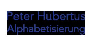 Peter Hubertus - Alphabetisierung